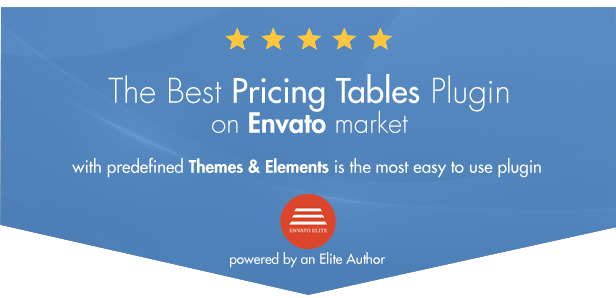 Easy Pricing Tables WordPress Plugin - 1
